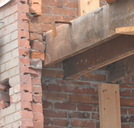 Interior air barrier systems for solid masonry renovations bluegreen consulting group inc - Double brick cavity walls ...