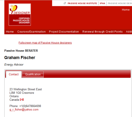 Leave it to the Germans to misspell Fisher; Congrats Graham!